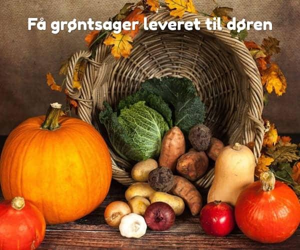 Få grøntsager leveret til døren